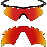 f909365124e Mryok+ Polarized Replacement Lenses for Oakley M Frame Heater Vented - Fire  Red