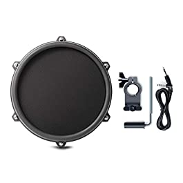 Alesis Nitro 8 Inch Mesh DUAL-ZONE Pad Expansion Pack – 8″ Drum, Clamp, Cable