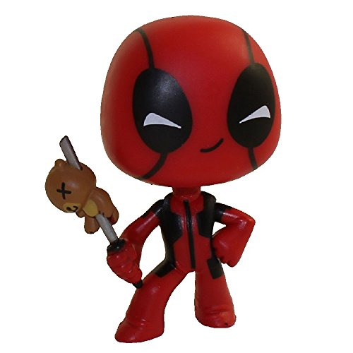 Funko Mystery Minis Vinyl Figure - Deadpool S1 - TEDDY BEAR on SWORD (Fencer)(2.5 inch)