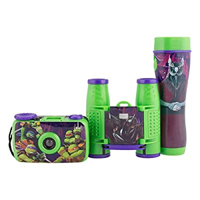 Sakar Nickelodeon Teenage Mutant Ninja Turtles 3-Piece Adventure Kit - Style May Vary: Toys & Games