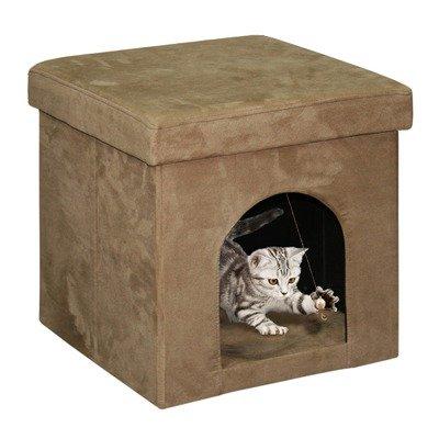 Favorite Finds Cube Ottoman, My Pet Supplies