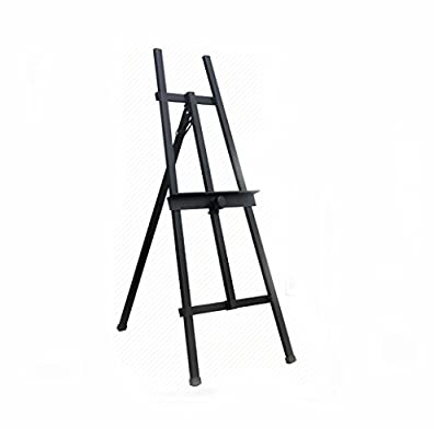 painting easel 1.4 Meters Piano Paint Black Wedding Iron Exhibition Stand Advertising Display Rack Sketch Black Frame easels