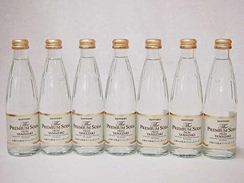 プレミアムソーダ 山崎の天然水でつくったソーダ サントリー 瓶240ml×7