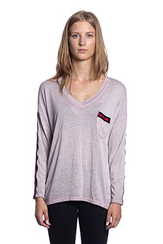 Art Tendresse Fabriqu Rose Plaine en Vente Doux Couleurs Femme IG020 Flexible Fashion Top Abbino Sexy Italie L'automne Transition Shirt Hiver lgant 1502 Plusieurs Branch Confortable Collection wgqISxnZ