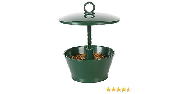 C J Wildbird Foods Cj Mini Mealworm Feeder Green