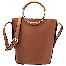 Melie Bianco Stella Large Women's Handbag Crossbody Top Handle Everydat Tote