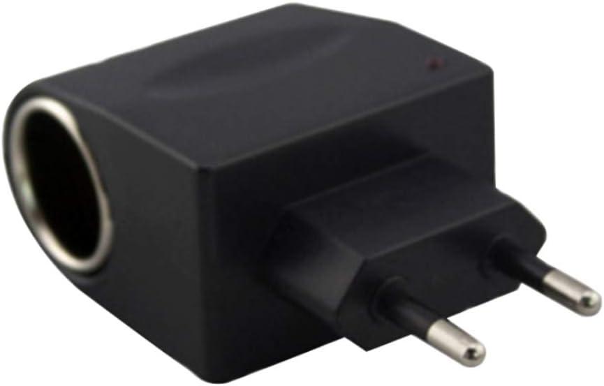 hudiemm0B Converter Universal Household Car Auto AC to DC Lighter Adapter Socket Converter