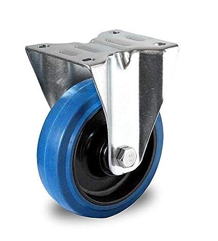 Automatik Lenkrolle 100 mm Blue Wheel 200 kg Schwerlastrolle Automatik Lenkrolle