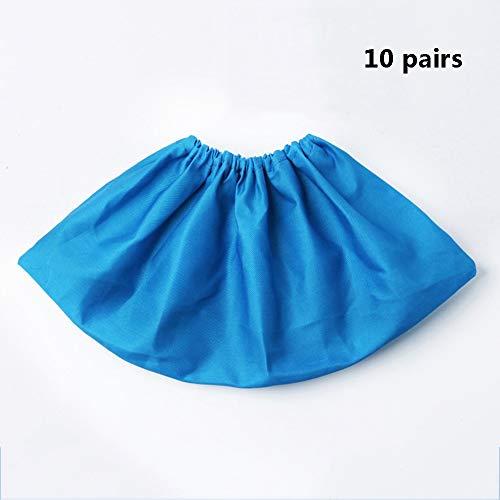 HPLLFunda de zapato plastico Se pueden usar repetidamente 10 pares de fundas para calzado para uso doméstico en la...