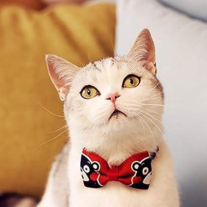Cupcinu Pajarita Mascota Corbata Ajustables para Mascotas Pajarita ...