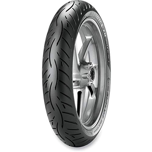 Metzeler Roadtec Z8 Interact M-Spec Front Motorcycle Tire 120/70ZR-17 (58W) - Fits: Aprilia Caponord 1200 ABS 2014-2018