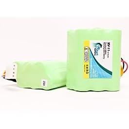 2X Pack – Neato XV-14 Battery – Replacement for Neato Robotic Vacuum Cleaner Battery – Compatible w/Neato XV-11, XV-12, 945-004, XV-15, XV-21, XV-25, 945-0048, XV Signature Pro (3500mAh, 7.2V, NI-MH)