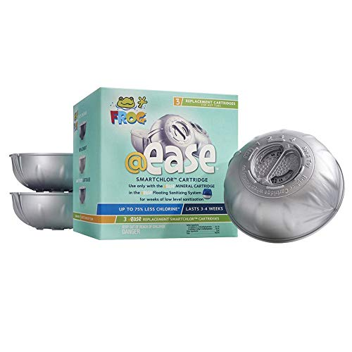 SPA FROG @Ease Smart Chlor 3 Pack Kit (Bundled with Pearsons Scumball Absorber)