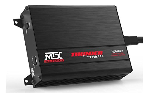 MTX Audio MUD100.2 Mud Series Amplifier (Total Mobile Audio Amp compare prices)