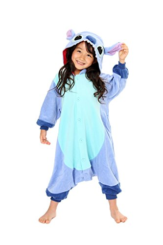 Stitch Kids Kigurumi (5-9 Years) (The Second Doctor Costume)