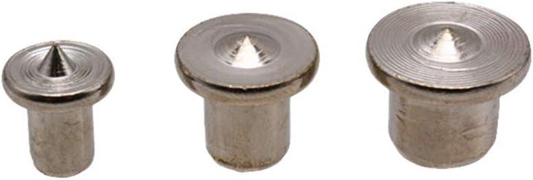 Set Gu/ía de Plantilla de Espiga de carpinter/ía de Mano para 6 8 10mm Brocas Broca de Madera Taladro de Espiga Recto con Funda de Metal BIlinli 41pcs