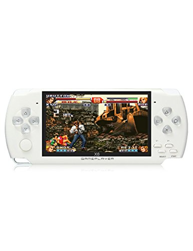 JXD 4.3''Handheld Game Console 8Gb Memory With MP3 MP4 MP...