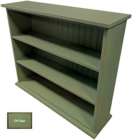 Reviewed: Sawdust City Solid Wood Hall Bookcase Old Sage