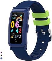BingoFit Fitness Armband Uhr Kinder, Fitness Tracker Smartwatch mit Blutdruck Pulsmesser und Schlafmonitor, Wasserdicht...