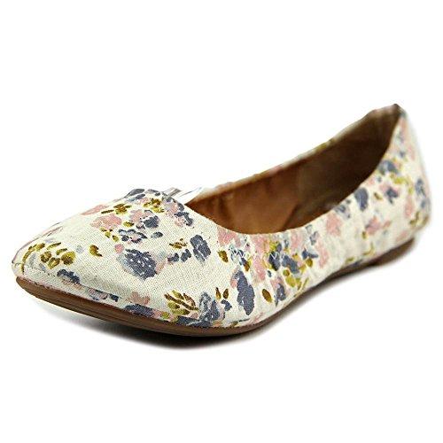Lucky Brand Emmie Grande Lona Zapatos Planos