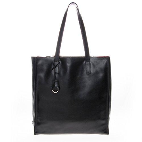 Prada Women's Structured Soft Tote Black