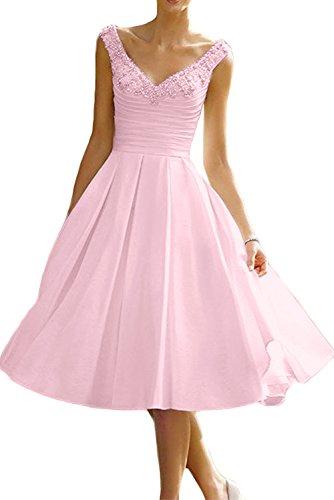 para mujer Topkleider 34 Vestido Rosa trapecio vqnUw4