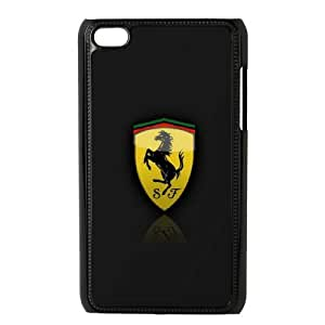 DIY Printed Ferrari hard plastic case skin cover For Ipod Touch 4 SN9V193503