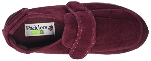 Padders Enfold Womens Volledige Pantoffels Bordeauxrood