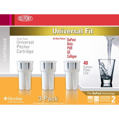Universal Water Pitcher Cartridge (Set of 3)