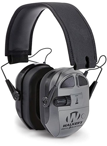 Walker's Game Ear GWP-XPMQ-BT Digital Quad Power Ear Muff (Walkers Muffs Power Quad)