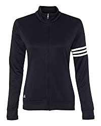 Adidas Womens Climalite 3-stripes Pullover A191 -Black White M