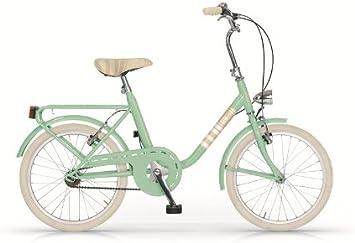 MBM Minimal Mini - Bicicleta de paseo (20) verde verde: Amazon.es: Deportes y aire libre