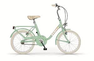MBM Minimal Mini - Bicicleta de paseo (20) verde verde: Amazon ...