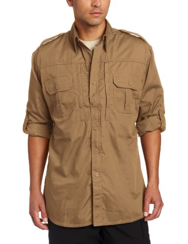 (Propper Men's Long Sleeve Tactical Shirt - Medium -)