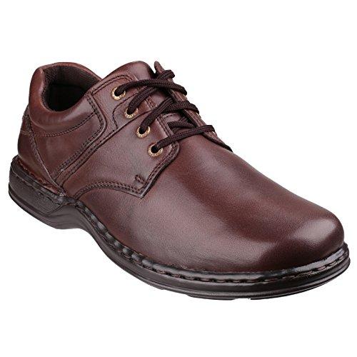 Hush Puppies - Zapatos con cordones Modelo Bennet hombre caballero Marrón