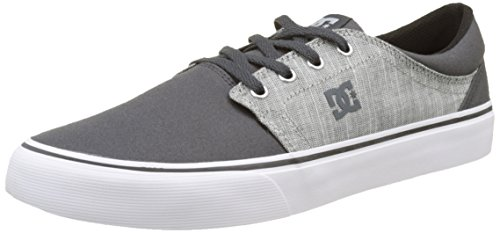 Grigio Tx Trase grigio Uomo Se Dc Carbone Shoes Basse SYnP4