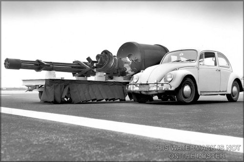 GAU-8A Avenger Gatling Gun, from A-10 Thunderbolt II Warthog - 24