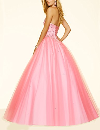 Bridal_Mall - Robe - Trapèze - Sans Manche - Femme -  Beige - 36