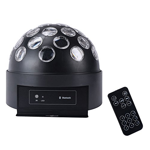 Stage Laser Party Light with MP3 Player and Speakers (Black) - 1