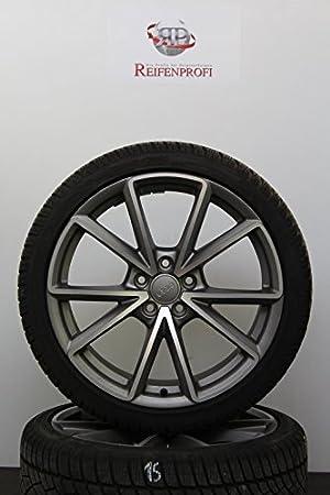 Audi 8K0601025CT - Ruedas de invierno, 19 pulgadas, originales, para Audi A4 8K S4 B8 S-Line, 1026-D: Amazon.es: Coche y moto