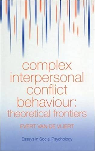 com complex interpersonal conflict behaviour theoretical  complex interpersonal conflict behaviour theoretical frontiers essays in social psychology 1st edition