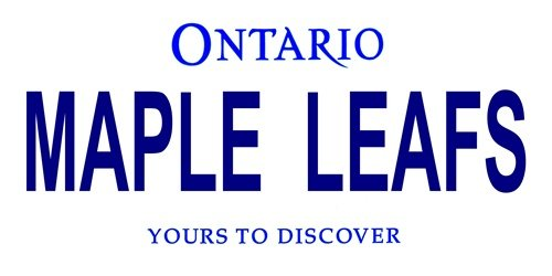 - LP-2068 MAPLE LEAFS Ontario Canada Province HUBzK Background Vanity Metal Novelty tOLnOGGjcb License Plate Tag Sign licence lisence license plate metal car sign yutio67 ghj90 6