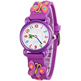 venhoo kids watches cartoon waterproof silicone children wristwatches time teacher gifts for boys girls - Purple Kids Room Decor