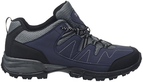 Bleu Randonnée Eu Holcombe Low granit De Chaussures nvybl Homme Regatta Basses 41 Gris qBfvw11