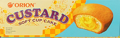 Orion Custard Filled Fruit Cake Soft Cupcake Dessert (12 Pieces) by Orion (Image #1)'