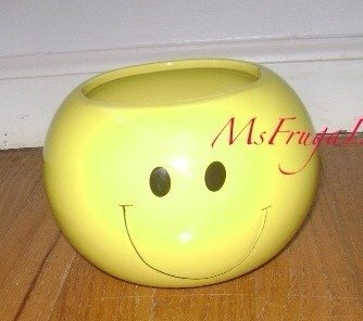 yellow candy dish - 1