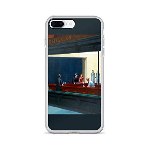 - iPhone 7 Plus/8 Plus Pure Clear Case Cases Cover Nighthawks by Edward Hopper (1942)