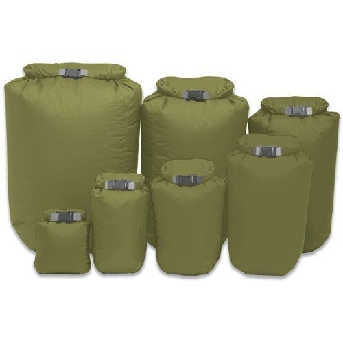 Exped fold dry bag olive green XXL 40 ltr by Exped Exped Fold Dry Bags