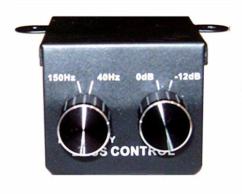 Custom Bass Amps - Car Amplifier Sub Universal Bass Control Remote RCA Line Level