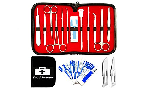 Amazon Advanced 22 Pieces Medical Dissection Kit For Anatomy